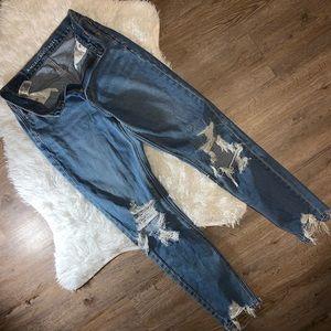 A&E stretch mom jeans 👖